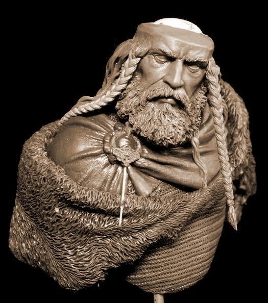 Yury Serebryakov's new bust - Viking G10