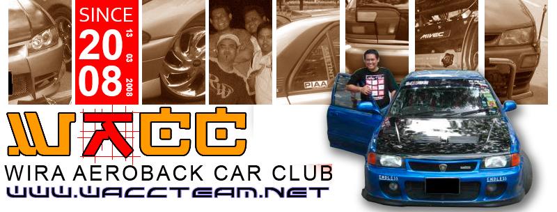 Wira Aeroback Car Club