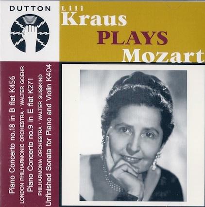 et Lili Kraus? Little11