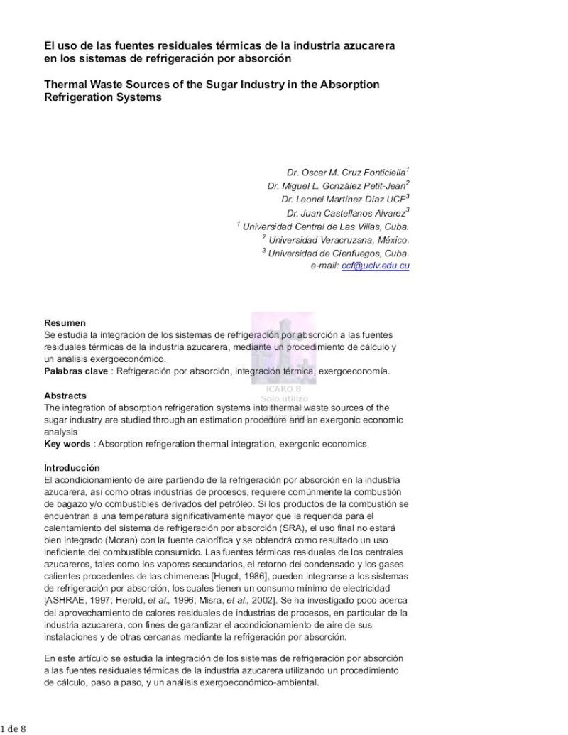 Absorcion (uso fuentes residuales térmicas) Pag_123