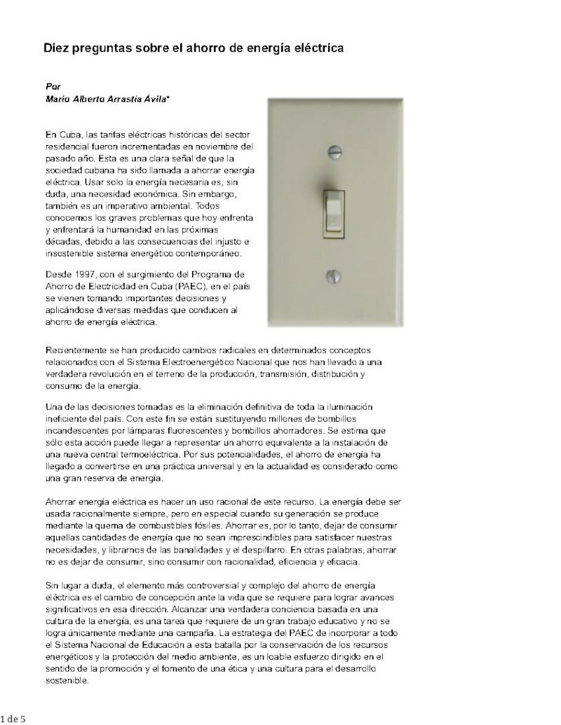Energía eléctrica (Diez preguntas sobre el ahorro ) Pag_175