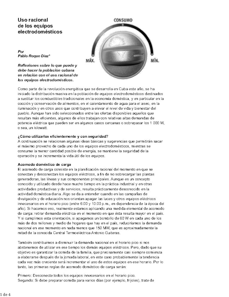 Uso racional de los equipos electrodomésticos  Pag_178