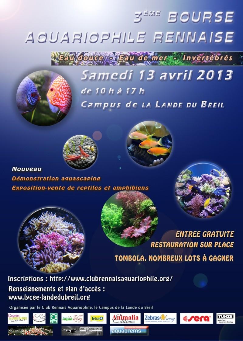 3ème Bourse Aquariophile Rennaise Affich11