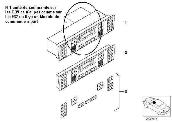 [ e39 525tds an 1996 ]  pas de ventilation intérrieure - Page 3 13_uni10