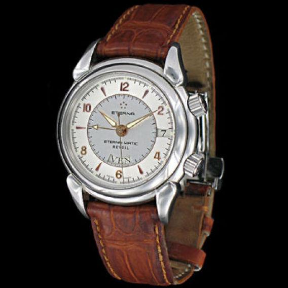 Liste des montres automatiques ou manuelle avec alarme Eterna10