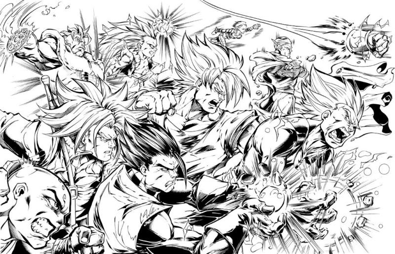 Images découvertes [Fanarts Dragon Ball] - Page 4 Dragon10