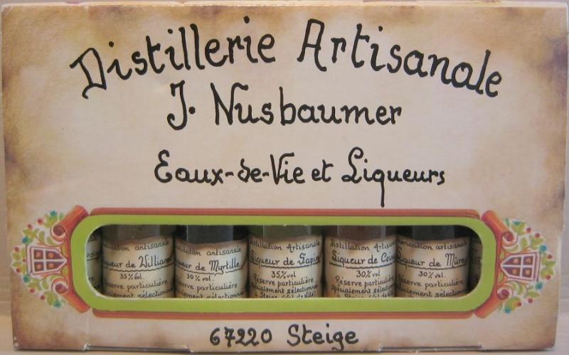 Distillerie Nusbaumer à Steige (Alsace) Liqueu10