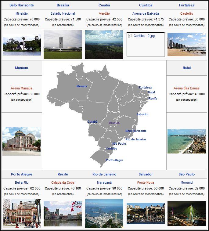 Les stades de la coupe du monde 2014 (Brésil) Stade_11