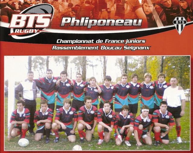 POST des Reichel B, Balandrade & Philiponeau (saison 2009/2010) Philip10