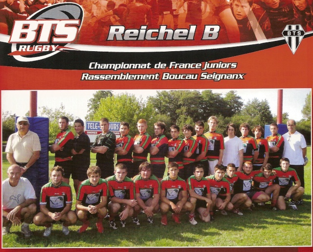 POST des Reichel B, Balandrade & Philiponeau (saison 2009/2010) Reiche10
