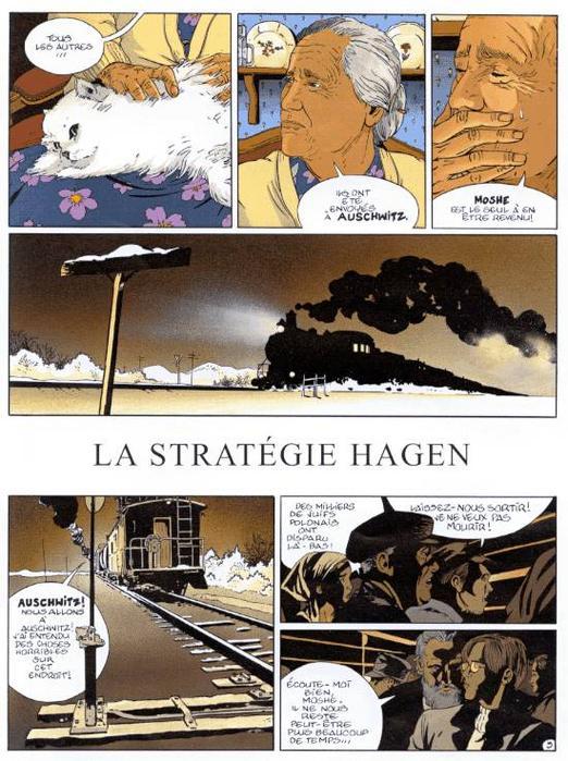 I.R.$ - Tome 2: La stratégie Hagen [Vrancken & Desberg] 20051210