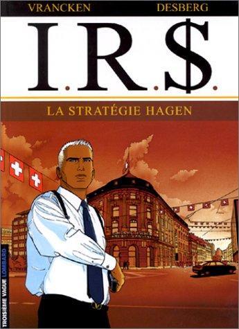 I.R.$ - Tome 2: La stratégie Hagen [Vrancken & Desberg] Couver10