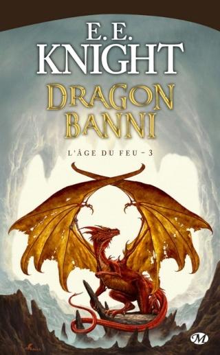 L'ÂGE DU FEU (Tome 3) DRAGON BANNI de E.E. Knight 0908-d10
