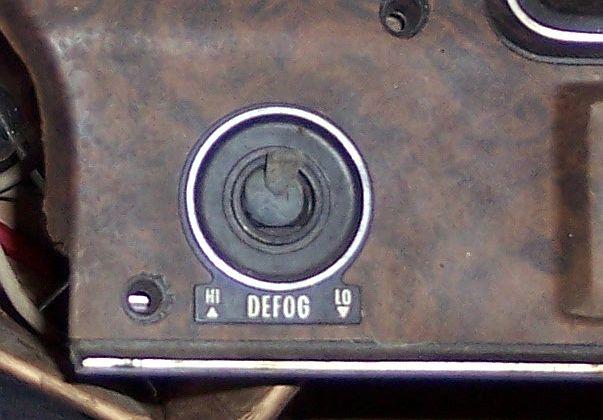 Rear defrost in the window? Fan110