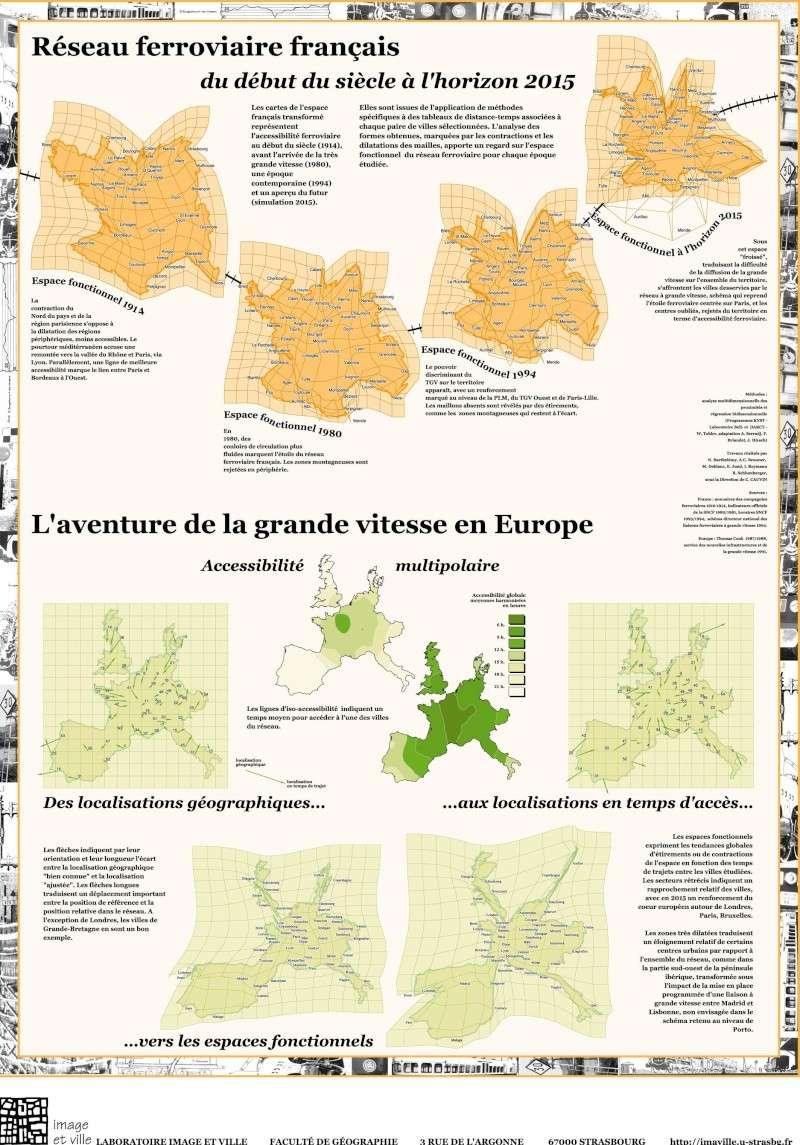 Le réseau ferroviaire français et européen : 1900 - horizon 2015 Acces10