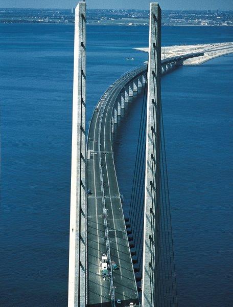 Le pont-tunnel de l'Öresund Oresun10