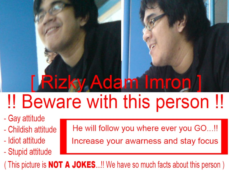 [INFO] Don't risk your life with this... Beware12