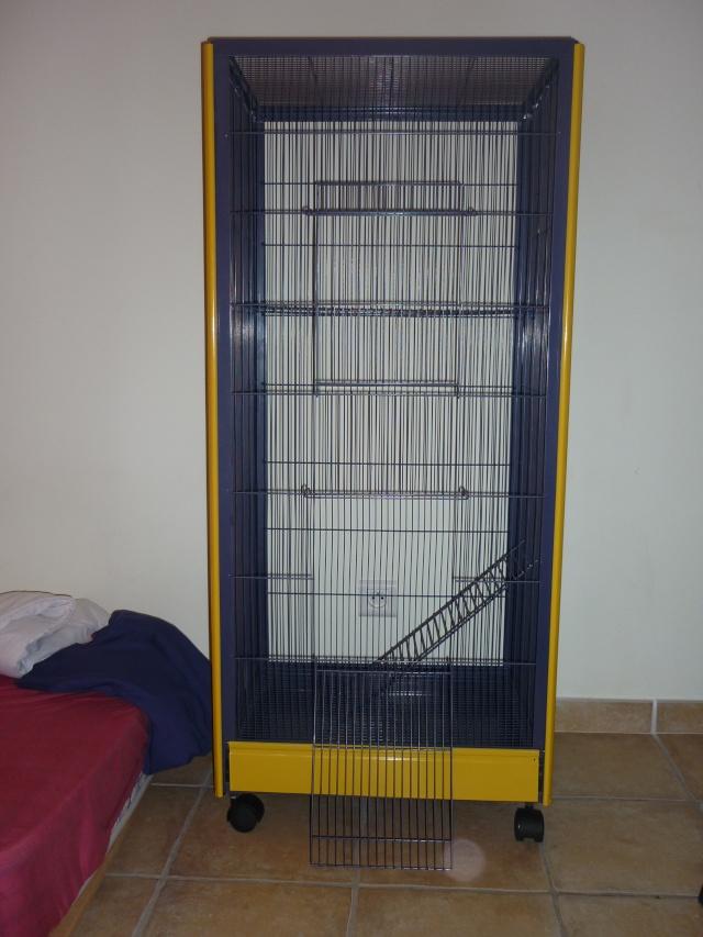 Vend volière 40 euros ( 84 - 34 ) P1030511