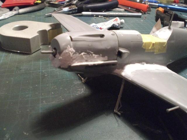 Messerschmitt b109 e Cimg0021