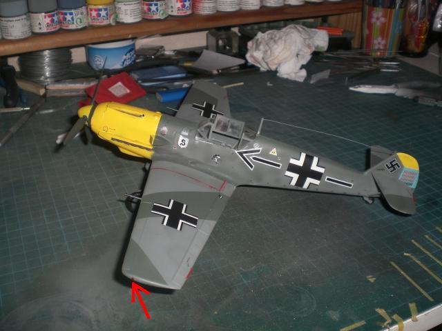 Messerschmitt b109 e Cimg0024