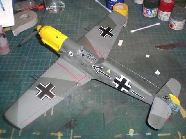 Messerschmitt b109 e Cimg0027