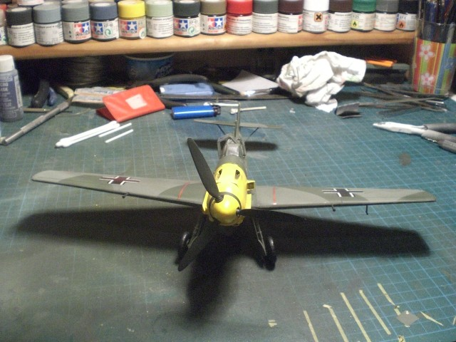 Messerschmitt b109 e Cimg0028
