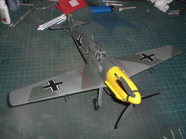 Messerschmitt b109 e Cimg0029