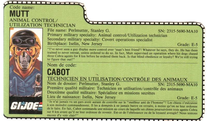 Scans des filecards francais Cabot10