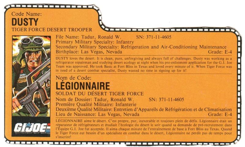 Scans des filecards francais Legion10