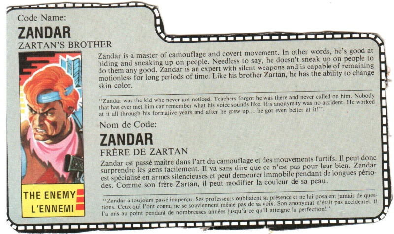 Scans des filecards francais Zandar10
