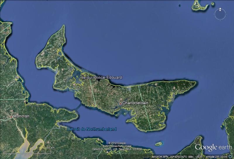 [Canada] - Carte et liste des phares de l'Île -du-Prince-Edouard Ile_pr10