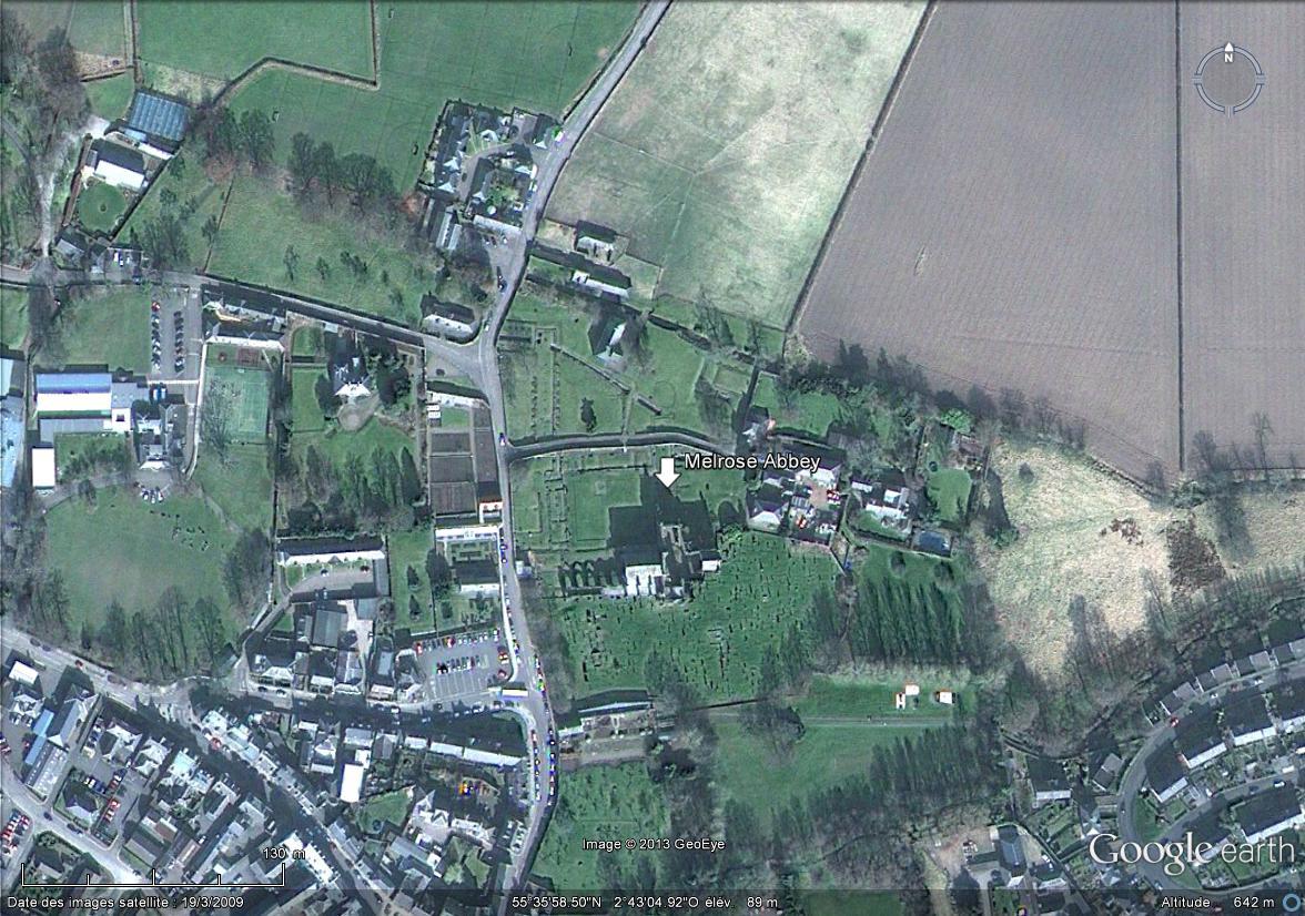 [Royaume-Uni] - Abbaye de Melrose Ecosse Melros10