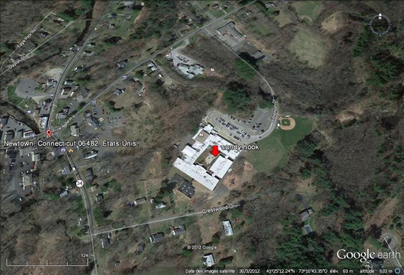 Un  tireur qui a fait irruption dans une école primaire du Connecticut  Sandy_10