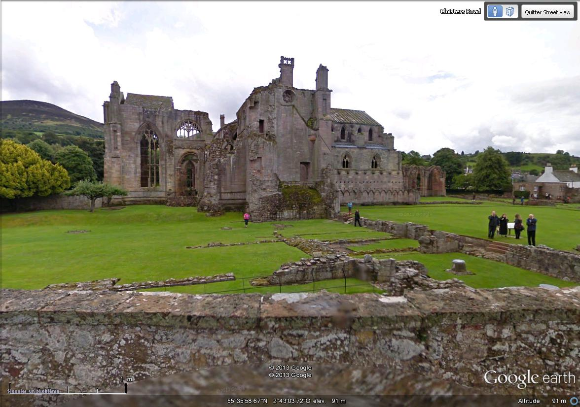 [Royaume-Uni] - Abbaye de Melrose Ecosse Street13