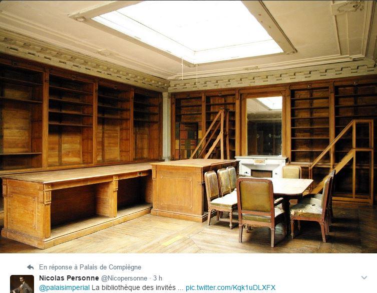 Expo au palais de Compiègne : Secrets de bibliothèques 03612