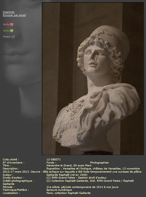 antique - Exposition Versailles et l'Antique (2012)  - Page 3 2211