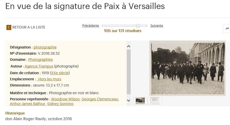 Arras : dernière expo autour du traité de Versailles ? 222215