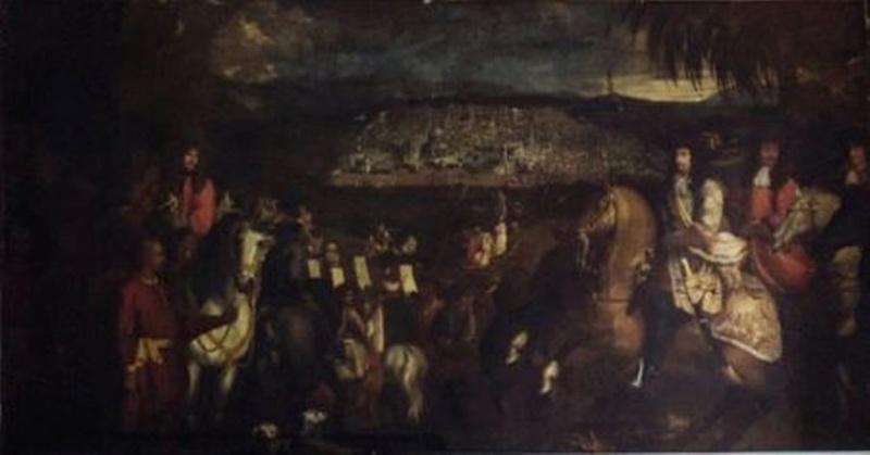 Le marquis de Nointel à Jérusalem par Arnould de Vuez ? 330
