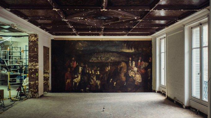 Le marquis de Nointel à Jérusalem par Arnould de Vuez ? 4dj-z210
