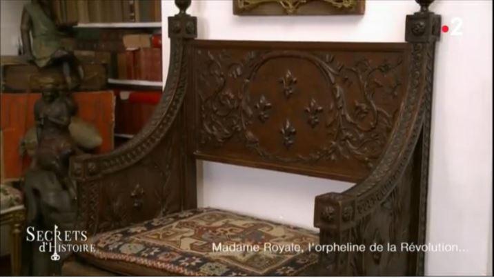 secrets royale - Secrets d'Histoire : Madame Royale (12/07/2018) 5215