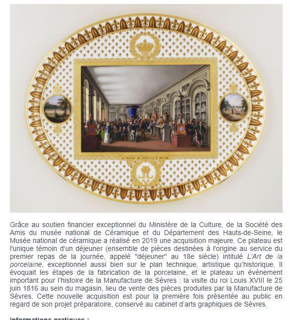 Sèvres, exposition : La Manufacture des Lumières (2015-2016) - Page 3 55549