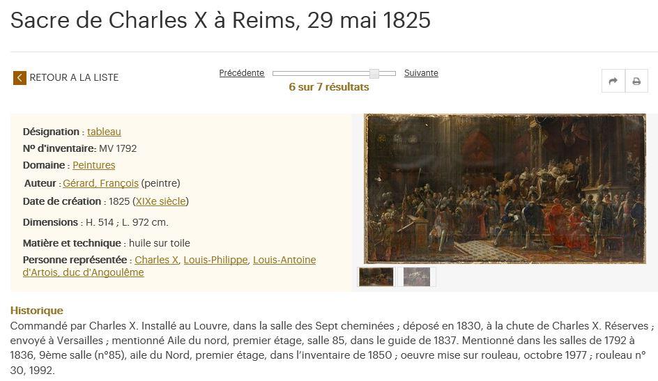 Splendeurs des sacres royaux  - Reims - Palais du Tau   - Page 3 561