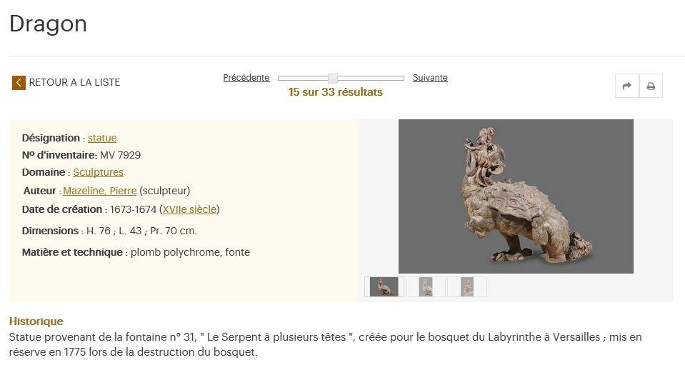 Le dragon-serpent, monstre mythologique  6910