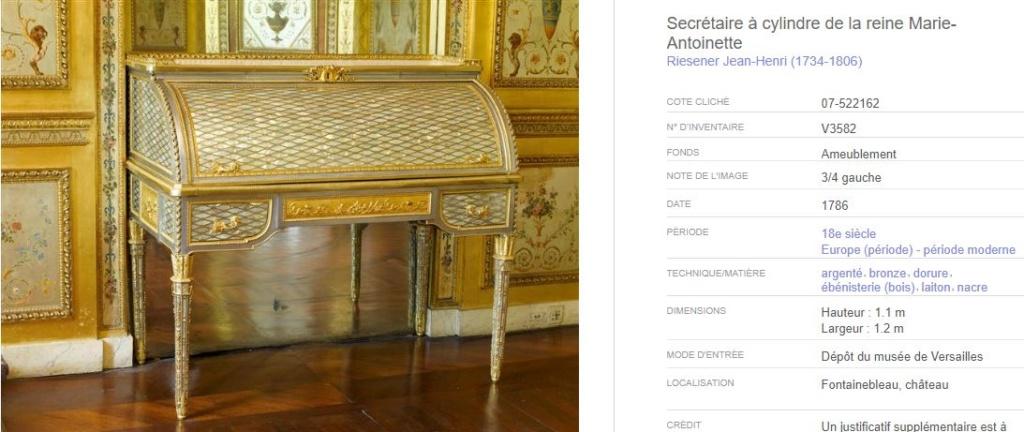 Acquisition de la Commode de Joubert par Fontainebleau  8415