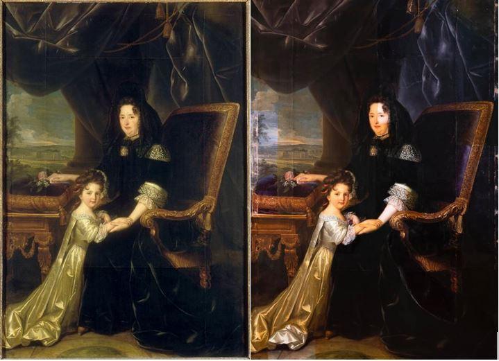 c2rmf à Versailles : Restauration des peintures 888710
