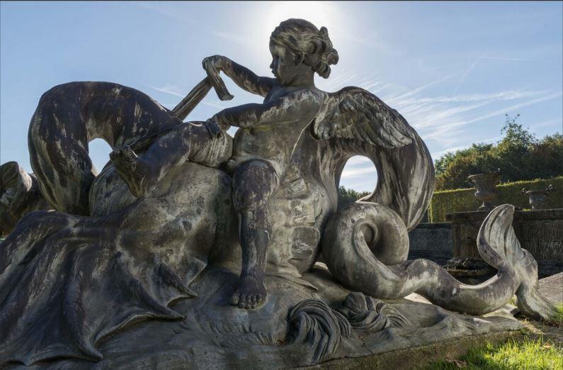 Le dragon-serpent, monstre mythologique  9814