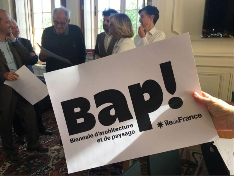Versailles : Biennale d'architecture et de paysage d'I.de Fr C11