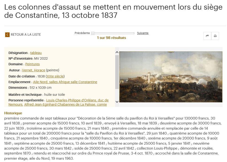 Exposition Louis-Philippe, en 2018 à Versailles - Page 5 Consta13