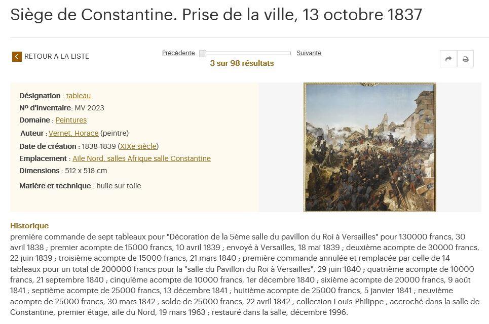 Exposition Louis-Philippe, en 2018 à Versailles - Page 5 Consta15