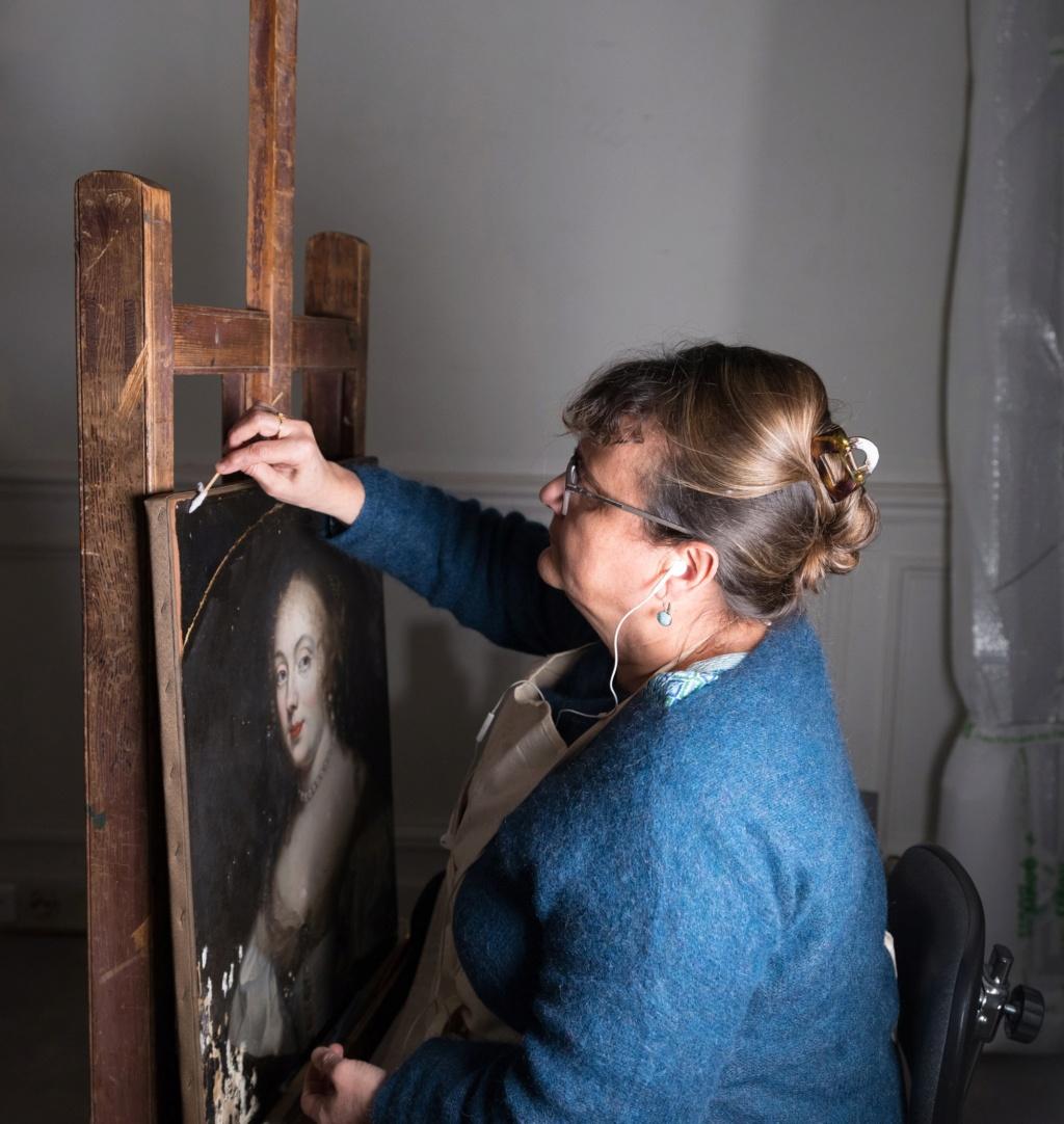 c2rmf à Versailles : Restauration des peintures D0q1id10